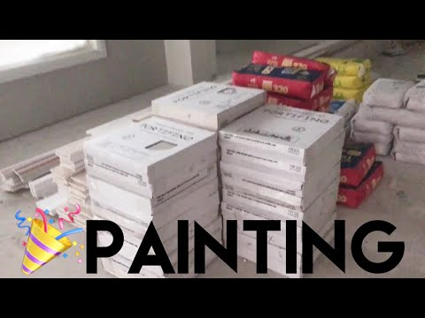 Download Youtube: Building Our Dream Home | OUR HOUSE HAS BEEN PAINTED!!!! - Episode 11