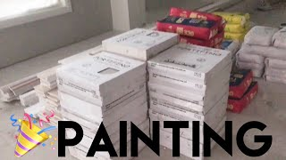 connectYoutube - Building Our Dream Home | OUR HOUSE HAS BEEN PAINTED!!!! - Episode 11