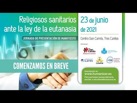 Manifiesto de la ordenes religiosas ante la Ley Orgánica de Regulación de la Eutanasia.