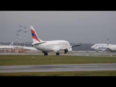 Air Armenia QN 910 EVN/VKO 27.10.13 B737-500 EK-73797