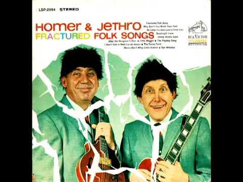 Fractured Folk Songs [1964] - Homer And Jethro