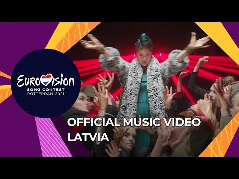 Samanta Tina - The Moon is Rising - Latvia 🇱🇻 - Official Music Video - Eurovision 2021