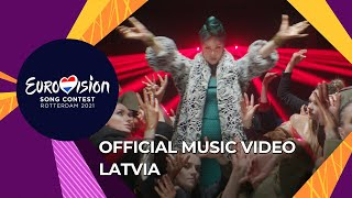 Samanta Tina - The Moon is Rising - Latvia 🇱🇻 - Official Music Video - Eurovision 2021