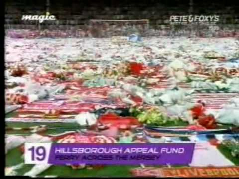 Hillsborough Appeal Fund - Ferry Across The Mersey. (1989) Original Video