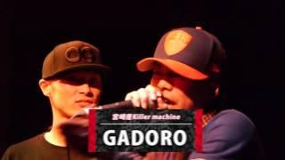 戦極MC BATTLE 第12章(15.6 .14)FEIDA-WAN vs GADORO @BEST BOUTその3