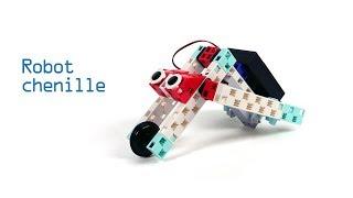 Comprendre comment se déplace une chenille en construisant un robot