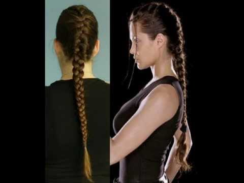Hair Tutorial French Braid Inspired By Lara Croft
