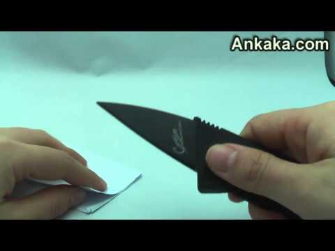 Cool Tool - Folding Credit Card Mini Pocket Knife Safety Razor Sharp | Pocket Knife Review