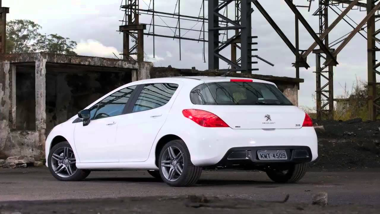 peugeot 308 feline thp 1.6 turbo com 165 cv - youtube