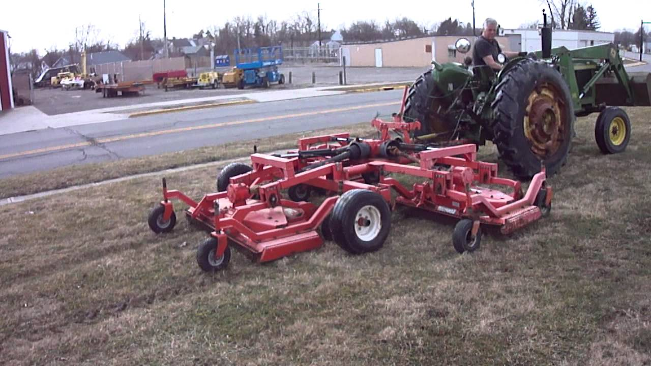 TRACTOR BATWING MOWER