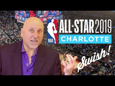 NBA All Star Game  -Charlotte North Carolina (Swish !)