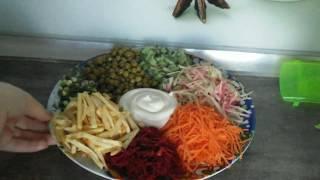 Французский салат, просто объедение