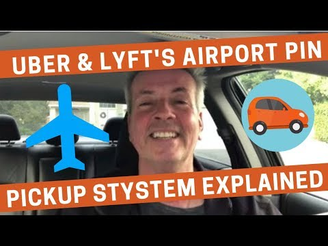 Uber And Lyft's Airport PIN Pickup System Explained
