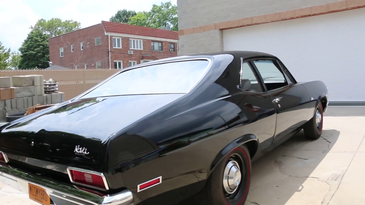 Webe Autos Reviews A 1971 Chevrolet Nova 427 Copo Recreation 427