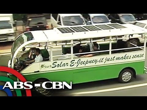 TV Patrol: Solar-powered jeep, ipapalit sa mga lumang pampasaherong jeep
