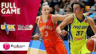 ZVVZ USK Praha v Bourges Basket - Full Game - EuroLeague Women 2019-20