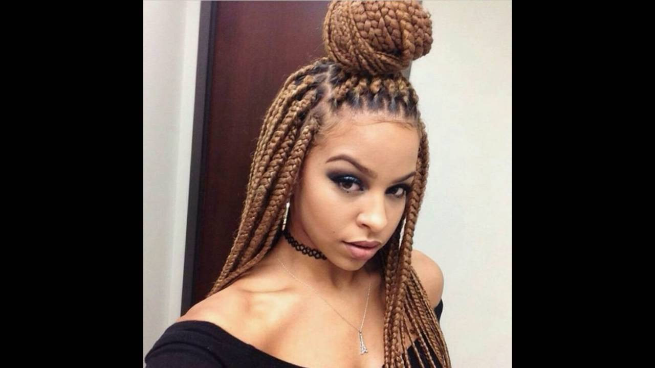 20 Braided Hairstyles For Medium Hair Black Women ...