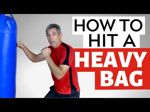 How to Hit a Heavy Bag for Beginners - Part 1