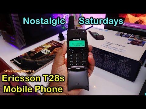 Ericsson T28s mobile phone from 1999 - Nostalgic Saturdays