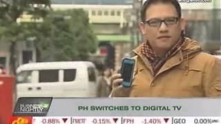 Philippine switches to digital TV