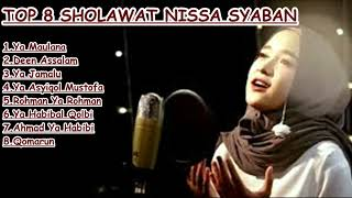 Top 8 Sholawat Nissa Syaban