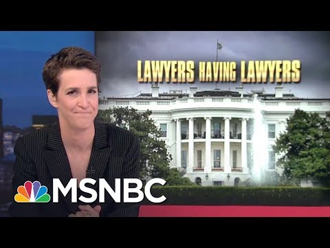 Donald Trump White House Aides Lawyer-Up In Face Of Robert Mueller Query | Rachel Maddow | MSNBC