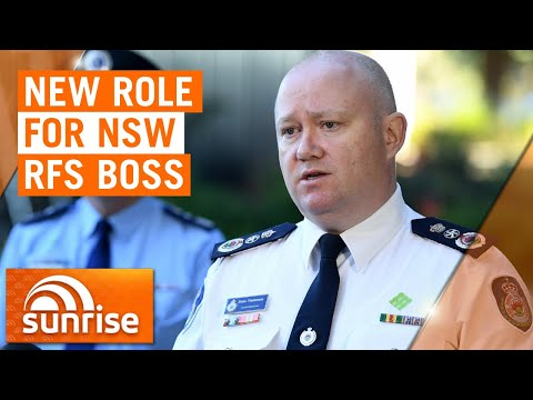 RFS Commissioner Shane Fitzsimmons Stands Down For New Role | 7NEWS