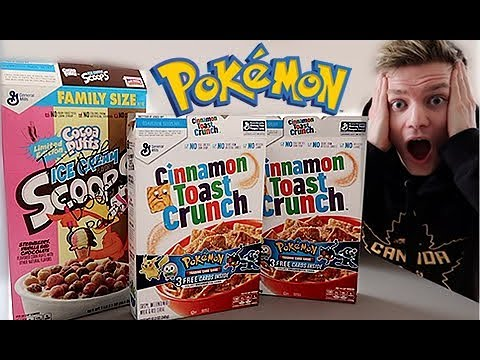 POKEMON CARDS NOW IN CEREAL BOXES!!!!
