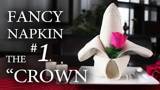 Repeat youtube video Fancy Napkin #1 - The