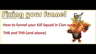 How to Funnel at TH8 and TH9 Clan Wars. Funnelling 101. Why and how to enter. Clash of clans