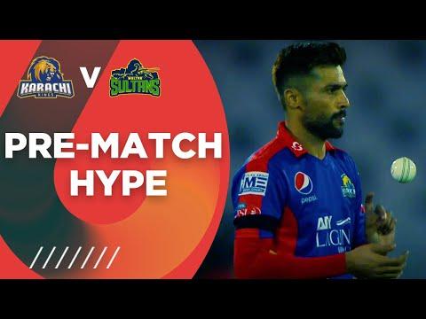 Pre-Match Hype   Karachi Kings vs Multan Sultans   HBL PSL 6 2021   Match 9   MG2T