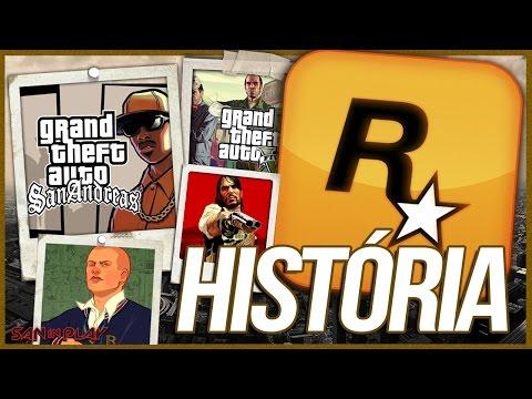 A INCRÍVEL HISTÓRIA DA ROCKSTAR GAMES!