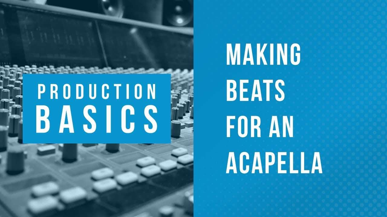 Ableton Live Production Basics 11 | Making Beats for an Acapella Vocal  Using Packs & Drum Racks