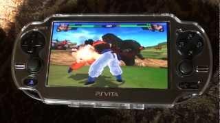 PSVITA Remote Desktop Pcsx2 DBZ Budokai Tenkaichi 3 Gameplay.