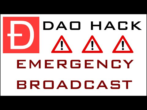 !! DAO HUB HACK - EMERGENCY BROADCAST !!
