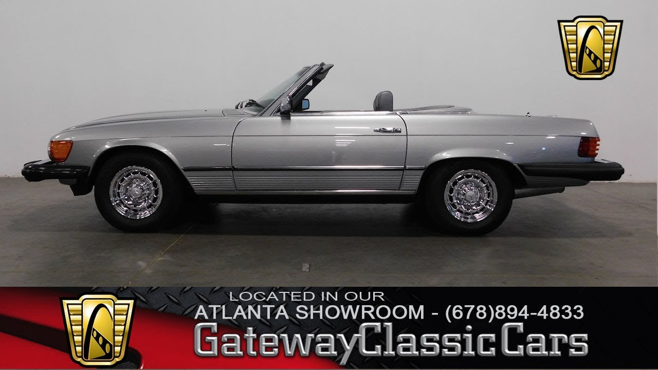 1981 Mercedes Benz 380SL - Gateway Classic Cars of Atlanta #711