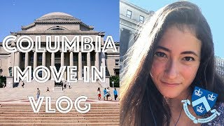 COLLEGE MOVE-IN VLOG! Columbia University 2019
