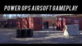 Airsoft Gameplay at Power Ops 1/28/2017