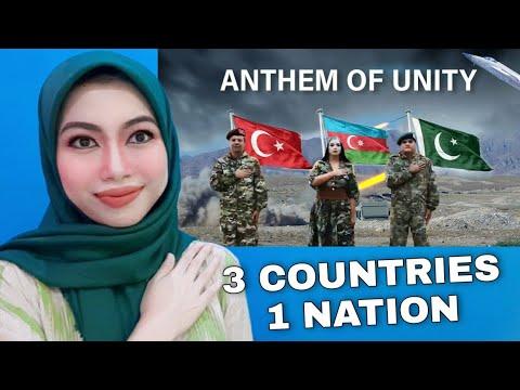 Indonesian Reaction Pakistan, Azerbaijan, Turkey National Anthem Of Unity