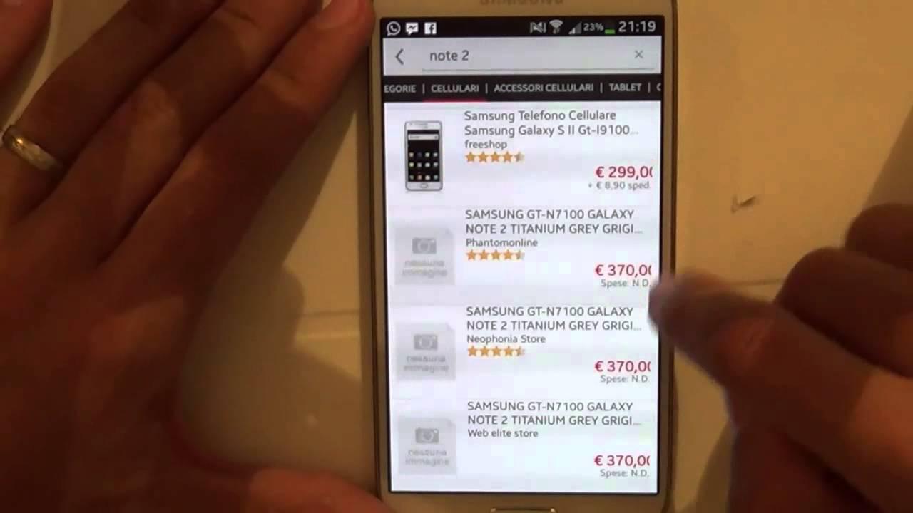 TrovaPrezzi: recensione dell\'applicazione Android - YouTube