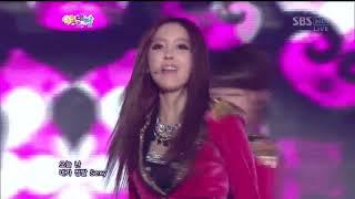 티아라  Sexy Love remix ver @SBS 가요대전 20121229