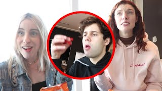 VLOG SQUAD EATS FLAMIN' HOT CHEETOS FOR THE FIRST TIME!!