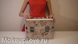 видео чемодан для косметики