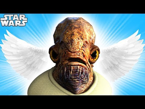 Official RESPECT Video for ADMIRAL ACKBAR (RIP) - Star Wars Funeral