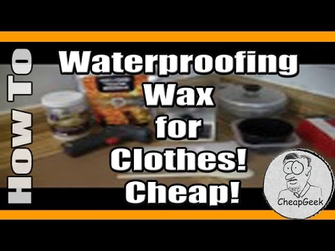 nikwax cotton proof instructions