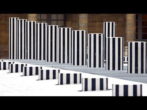 Art contemporain - Pont-Neuf de Christo / Colonnes de Buren - Artracaille 06-03-2012