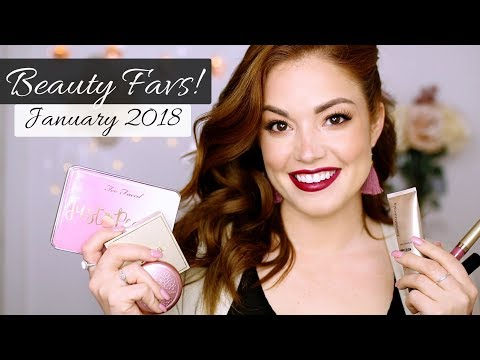 JANUARY BEAUTY FAVORITES!   Too Faced, Bare Minerals, Stila and MORE!