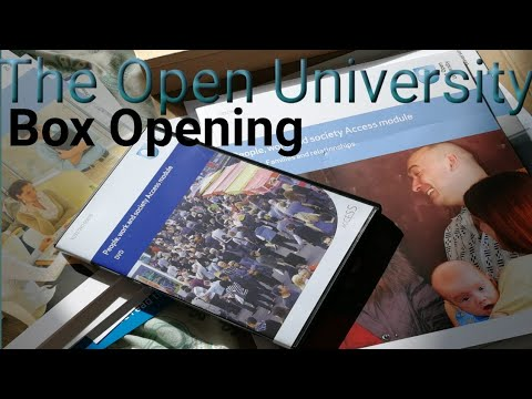 The Open University unboxing | Y032 access module