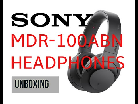 Sony MDR 100ABN Headphones Unboxing | Digit.in