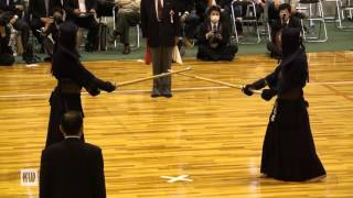 14th All Japan Invitational 8-dan Kendo Championships — Semi-final 1